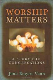 Large worship matters a study for congregations