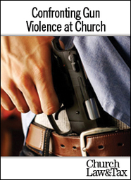 Large confronting gun violence at church