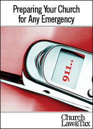 Large preparing your church for any emergency