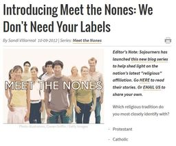 Large meet the nones