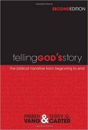 Large telling gods story