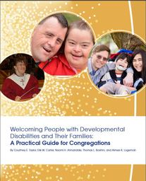 Large welcoming people developmental disabilities