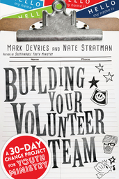 Large building your volunteer team