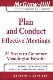 Large plan and conduct effective meetings