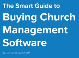 Large smart guide cms