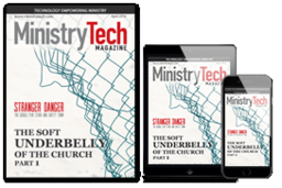 Large ministry tech mag