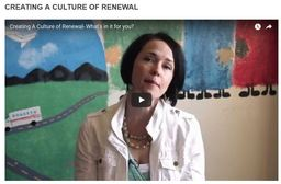 Large creating culture of renewal
