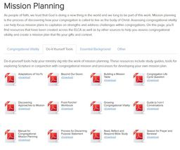 Large mission planning do it yourself