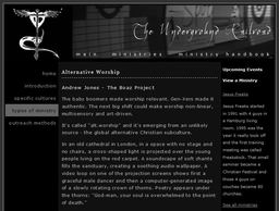 Large alternative worship