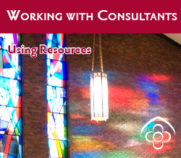 Large working with consultants