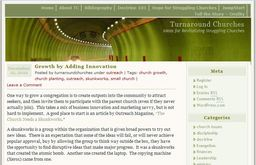 Large turnaround churches
