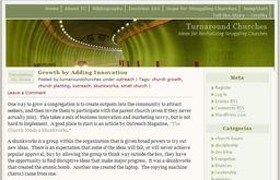 Large turnaround churches