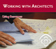 Thumb working with architects ad