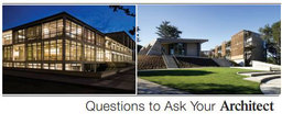 Large questions to ask your architect