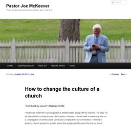 Large how to change the culture church