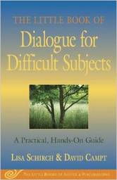 Large dialogue for difficult subjects