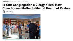 Large congregation clergy killer
