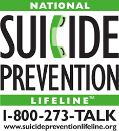 Large national suicide prevention lifeline