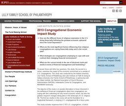 Large 2013 economic impact study