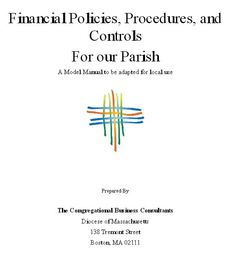 Large financial policies procedures