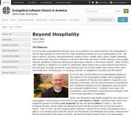 Large beyond hospitality