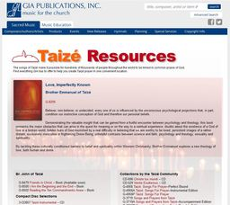 Large gia taize resources