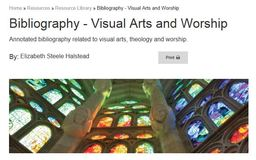 Large visual arts and worship