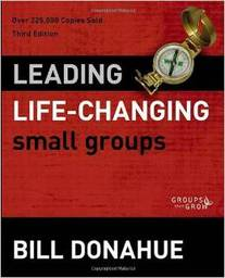 Large leading life changing small groups