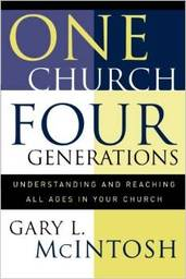 Large one church four generations
