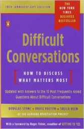 Large difficult conversations