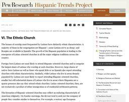 Large the ethnic church