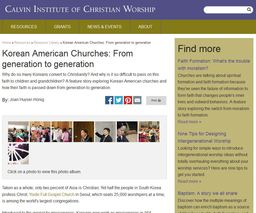 Large korean american churches