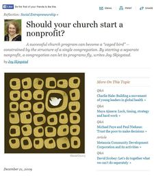 Large should your church start a nonprofit