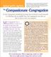 Thumb insights into compassionate congregation