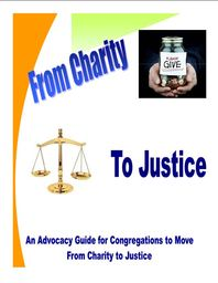 Large from charity to justice