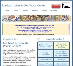 Large lombard mennonite peace center