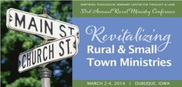 Large rural ministry conf