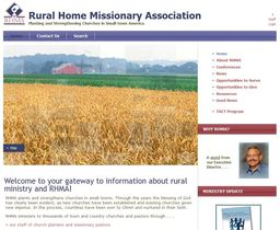 Large rural home missionary