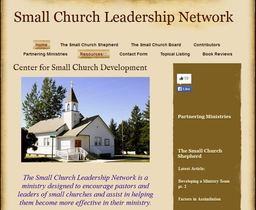 Large small church leadership network
