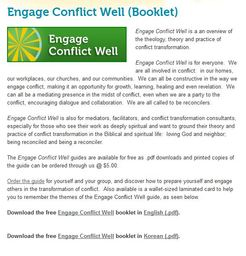 Large engage conflict well
