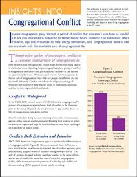 Large insights into congregational conflict
