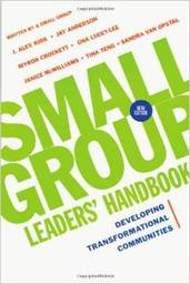 Large small group leaders handbook