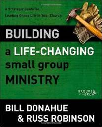 Large building life changing small group ministry