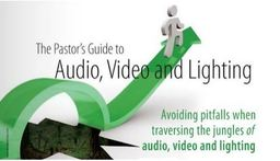 Large pastors guide audio video