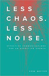 Large less chaos less noise