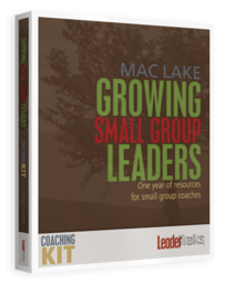Large growing small group leaders