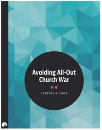 Large avoiding all out church war