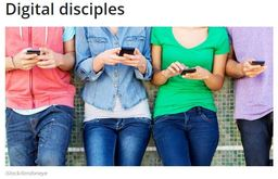 Large digital disciples