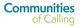 Thumb communities of calling logo