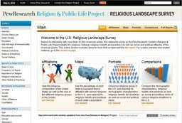 Large us religious landscape survey